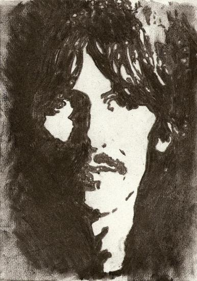 George Harrison by malolo